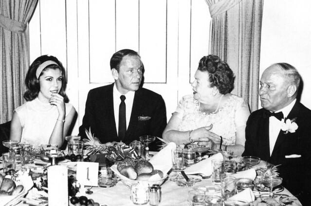 Nancy Sinatra, Frank Sinatra and his parents