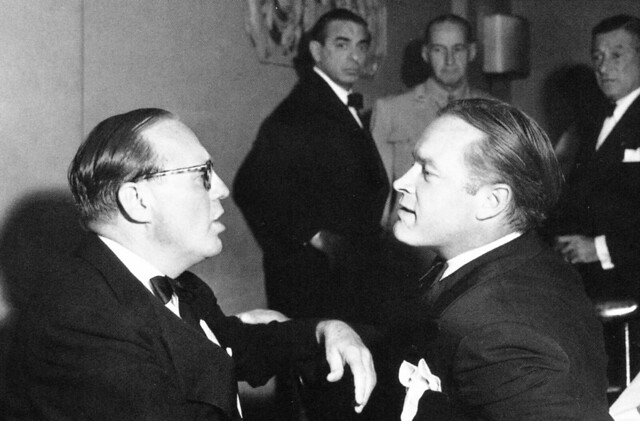 Jack Benny and Bob Hope