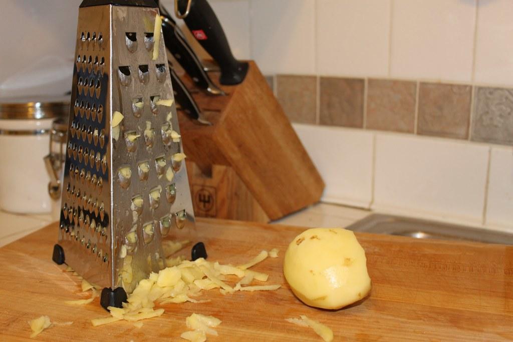 grated potato