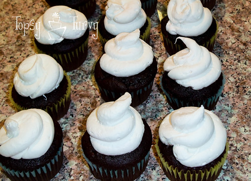chocolate-covered-chocolate-marshmallow-cupcakes-pipped
