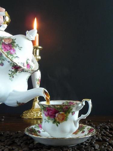 elaine steamy coffee