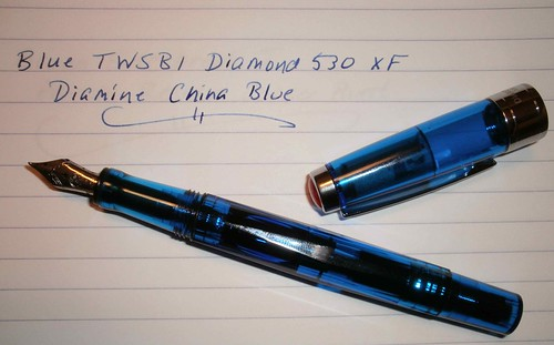 Blue TWSBI Diamond 530 XF
