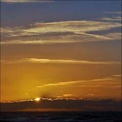 little ship.. (leuntje) Tags: sunset beach netherlands clouds strand zonsondergang noordzee wolken explore shore northsea fishingboat frontpage noordwijk noordwijkerhout vissersboot