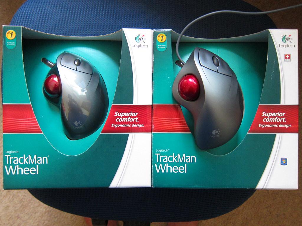 Logitech Trackman Wheel x 2
