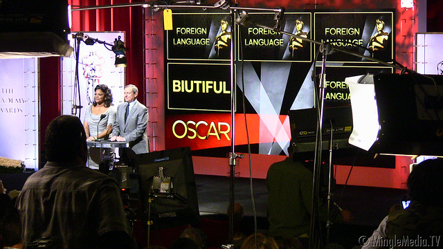 Mo'Nique and Tom Sherak at the 83rd Academy Awards Nomination Announcement IMG_6463 by MingleMediaTVNetwork