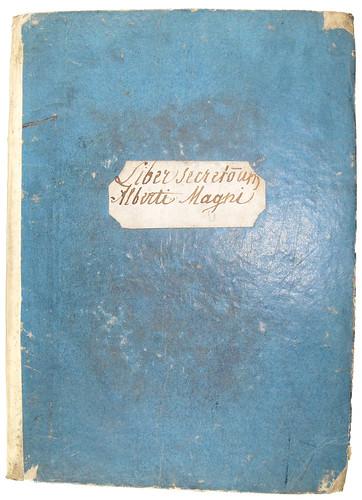 Binding of Albertus Magnus [pseudo-]: Liber aggregationis