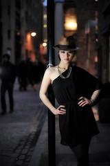 Ninky-London-(18-of-25) (SarawuthWeddings) Tags: city portrait black girl fashion angel night dark 50mm evening student model nikon university dusk f14 flash creative thai ttl southampton cls ninky kingdon d700 sb900