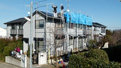 Solar PV panel and system installation (CoCreatr) Tags: green rooftop japan solar power panel installation yokohama 横浜 photovoltaic