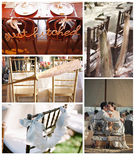 Wedding Trend Creative Chair Decorations