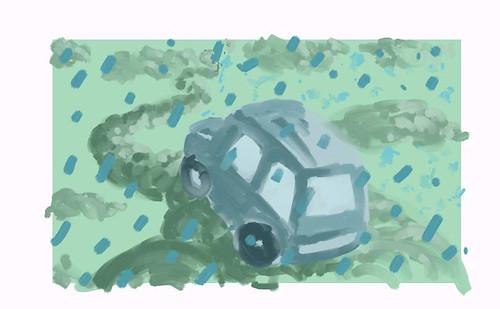 Cars on Rain Clouds