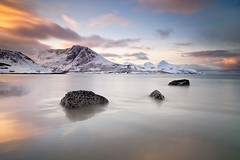 Norway Grotfjord (peterspencer49) Tags: ocean winter mountain snow seascape beach norway clouds bay coast artic seaview arcticcircle winterview stunningview seascene cosatline oceanveiw 5dmkll peterspencer stunningseascape beachseaview