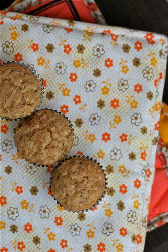 sour cream banana muffins 2