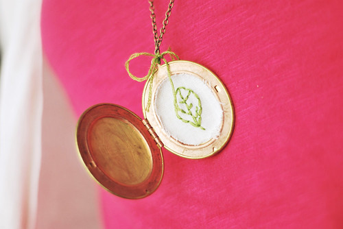 leaf locket