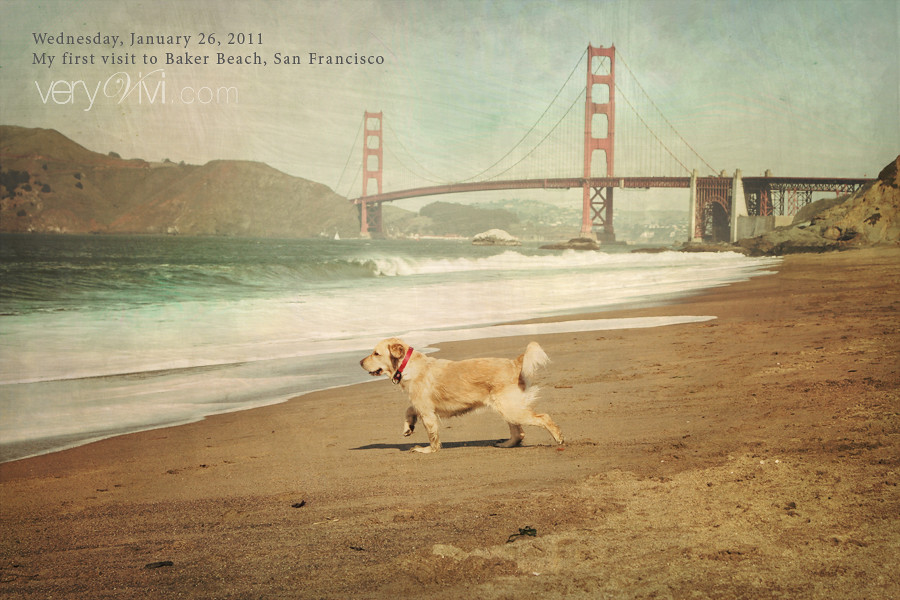 My First Visit to Baker Beach, San Francisco