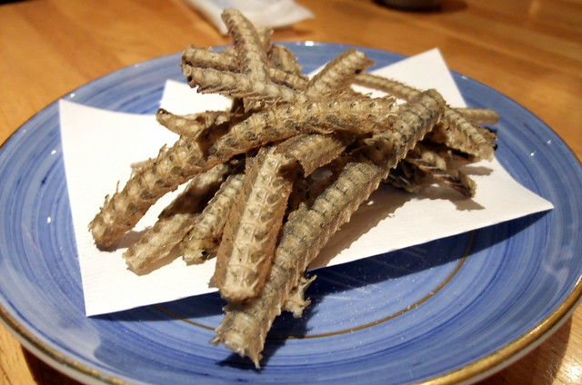 Deep Fried Eel Bones