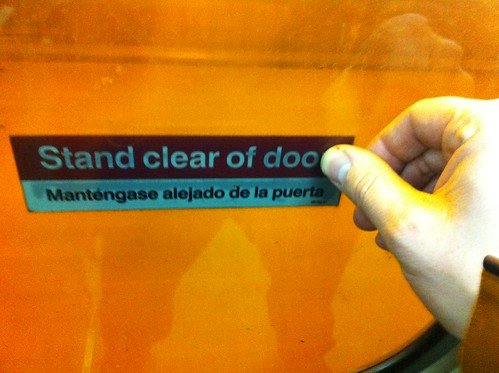 Stand Clear of Doo