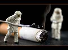 At what cost? (hoho0482) Tags: fire cigarette cig tobacco nicotine extinguish macromondays