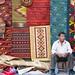 Seller of tapetes - Oaxaca de Ju�rez, Oaxaca, Mexico