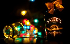 Creme Bokeh (Nanagyei) Tags: glass colors 50mm milk dof bokeh sony creme tuesday booze dairy baileys a700 tipsytuesday drinksensibly