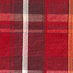 colorful plaids textured red plaid9464-G by hansherman