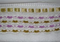 simli havlu kenarı