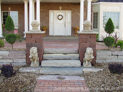 Backyard Pergolas & Patios ~ Chilton Natural Stone Steps and Retaining Wall at Front Entry (Switzer's Nursery & Landscaping) Tags: minnesota stone landscape design natural landscaping stonework glenn steps patio cedar handcrafted stonewall northfield interlocking pergola stonesteps paver handset pavers naturalstone waller switzers arbour switzer drystack landscapedesign designbuild hardscape hardscaping customdesigned glennswitzer icpi patiodesign pergoladesign switzersnursery landscapedesigns theartoflandscapedesign switzersnurserylandscaping arbourdesign artoflandscapedesign