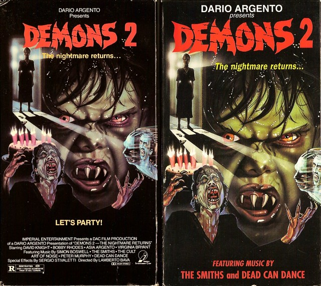 Demons 2 (VHS Box Art)