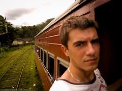 Я на поезде