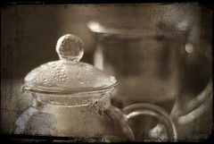 """Holy Teapot!"" (just jb) Tags: sepia teapot layered arttex"