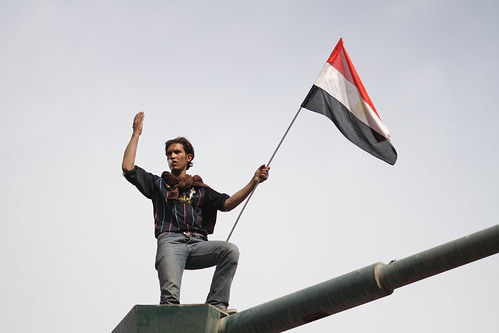 Egyptian Revolution: Fri 4th