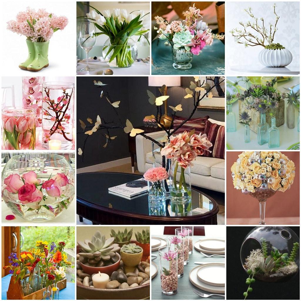 Flower display ideas..