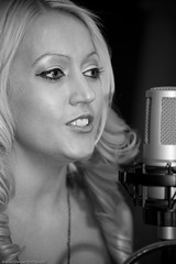 Sharron Nicholle Recording Studio Shoot-3208