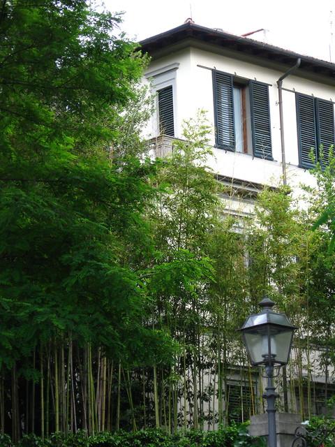 フィレンツェの家のフリー写真素材