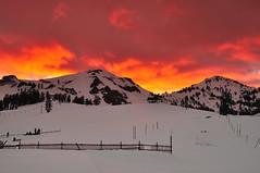 DSC_9393 (mingzkl) Tags: winter sunset mountain snow ski laketahoe squaw redcloud nikkor28mmf28ais