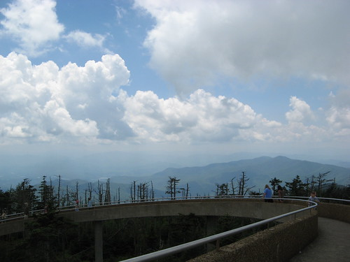 Sky over Clingman's Dome