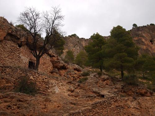 Casa de pastores en el camino, cerca de Ayna