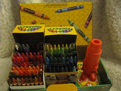 120 crayons