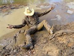 25 WS Fresh coat of mud & all my gear same colour (Wrangswet) Tags: wet canal boots hike cowboyhat cowboyboots wetlook riverhike swimmingfullyclothed muddycowboy wetcowboy wetcowboys muddycowboyboots wetwranglerjeans meninwetjeans mudwallowing guysswimminginjeans muddycowboys mudwallowingcowboy muddywranglerjeans cowboybootsandspurs