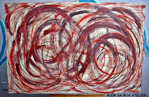 curso de pintura em tela - PINTURA ABSTRATA