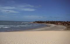 (JuGuimaraes) Tags: brazil praia azul brasil mar heaven jericoacoara barcos areia cu cear ce jijoca dunasdeareia