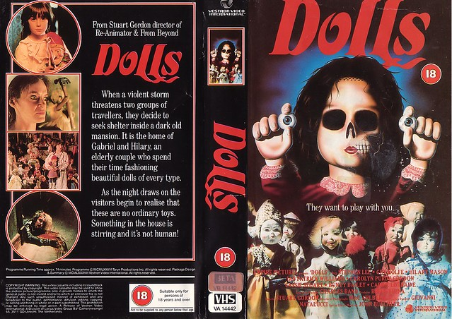 DOLLS (VHS Box Art)