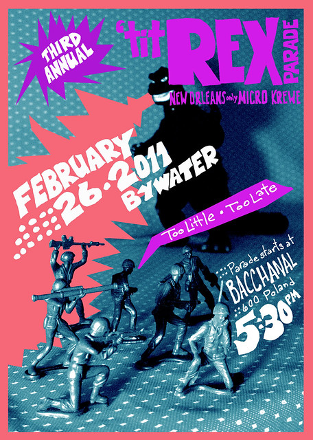 'titREX Parade 2011 poster