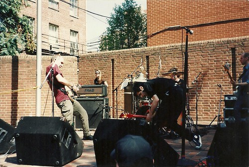 fugazi, schafer court, ians birthday 1999