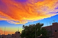 Beautiful sky at sunset (Yousef Malallah) Tags: beautiful night wonderful joseph day sony today tonight mal hdr  allah  yusuf       yousef   josep       a700     a900               malallah         yuosef