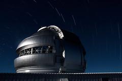 Gemini (stephanie.keating) Tags: sky night dark stars hawaii observatory telescope summit gemini maunakea startrails geminiobservatory gemininorth