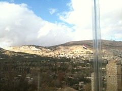Damascus (AdoOol) Tags: mountain syria damascus sham qasion