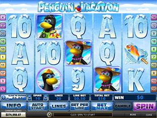 Play Penguin Vacation Slots Online at Casino.com South Africa