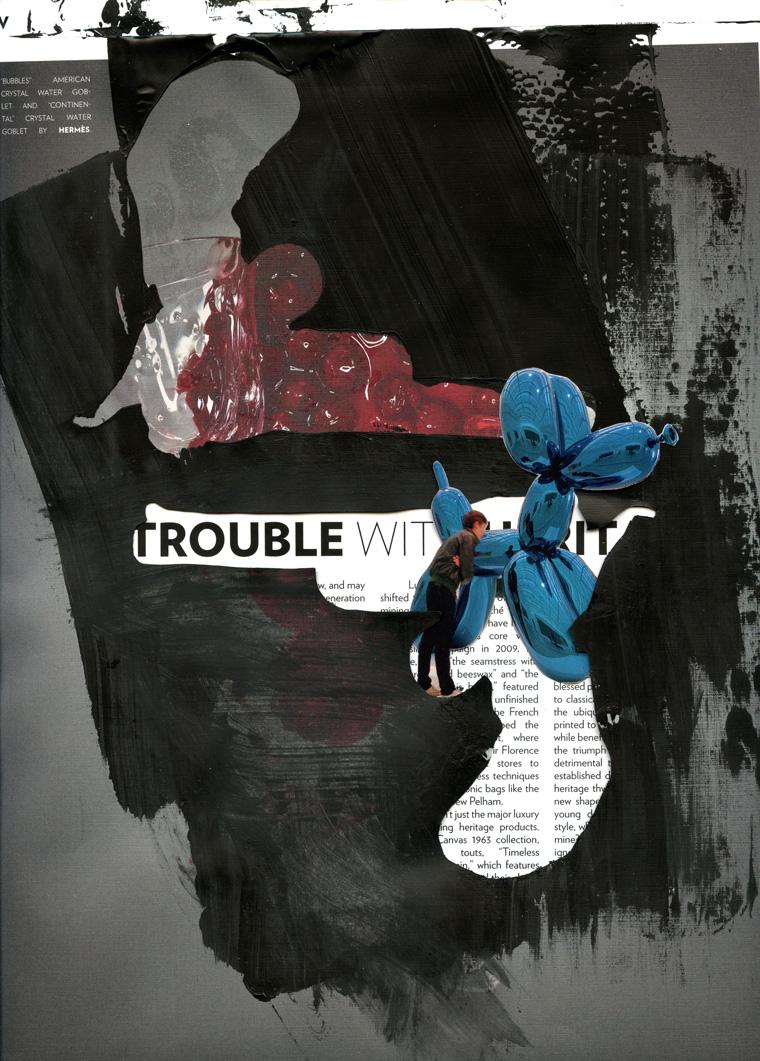 trouble copy