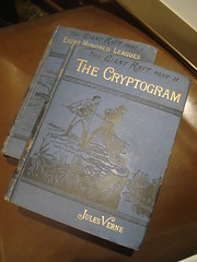 "Eight Hundred Leagues & The Cryptogram, Jules Verne • <a style=""font-size:0.8em;"" href=""http://www.flickr.com/photos/51721355@N02/5451945906/"" target=""_blank"">View on Flickr</a>"