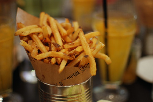 The American Sector: Fries & Satsuma Soda